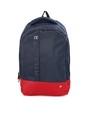 Tommy Hilfiger Unisex Navy & Red Biker Club-Basil Backpack