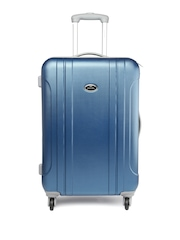 Pronto Unisex Blue Vectra 78 Large Trolley Suitcase