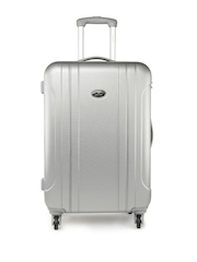 Pronto Unisex Grey Large Trolley Suitcase