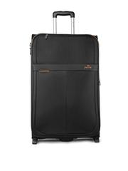 Pronto Unisex Black Medium Oxford Upright 65 Trolley Bag