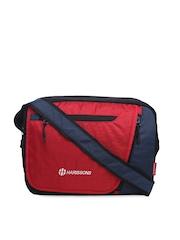Harrisons Unisex Red Messenger Bag