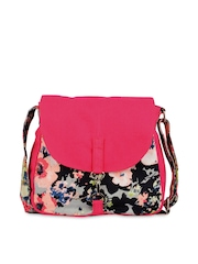 Vogue Tree Pink Printed Sling Bag