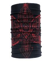 NOISE Unisex Black Printed Headwear