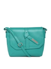 DressBerry Teal Green Sling Bag