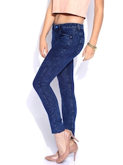 Flying Machine Blue Washed Twiggy Super Skinny Fit Jeans