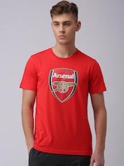 PUMA Red Arsenal FC Fan Printed T-Shirt