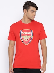 PUMA Red Arsenal FC Fan Printed T-shirt