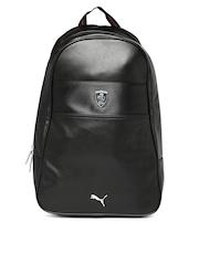 PUMA Men Black Ferrari LS Backpack