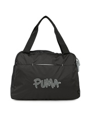 PUMA Black Core Grip Handbag