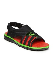 PUMA Unisex Black Faas Slide Sandals