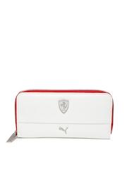 PUMA Women White Ferrari Wallet