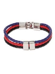 ToniQ Men Blue & Red Bracelet