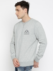 Adidas NEO Grey Melange Light FLC Sweatshirt