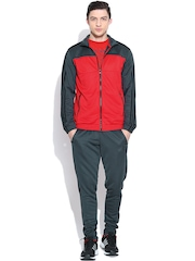 Adidas Red & Green TS KN Training Tracksuit