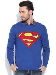 Superman Blue Sweater