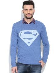 Superman Blue Sweater
