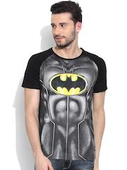 Batman Grey & Black Printed T-shirt
