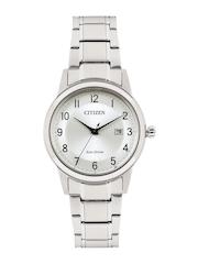 Citizen Men Eco-Drive Silver-Toned Dial Watch AW1231-58B