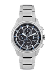 Citizen Men Eco-Drive Black Dial Chronograph Watch CA0370-54E