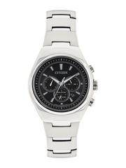 Citizen Men Eco-Drive Gunmetal-Toned Dial Chronograph Watch CA4021-51E