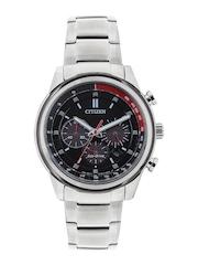 Citizen Men Black Dial Eco-Drive Chronograph Watch CA4034-50F