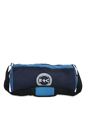 Estrella Companero Unisex Black & Blue Gym Bag