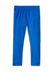 Sera Girls Blue Capri Leggings