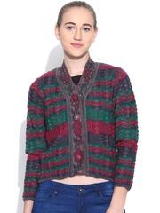 Duke Multicoloured Embellished Cardigan