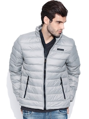 CAT Grey Padded Jacket