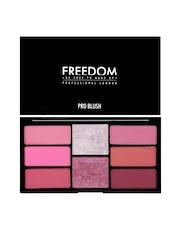 FREEDOM LONDON PROFESSIONAL Pro Blush Palette Pink & Baked