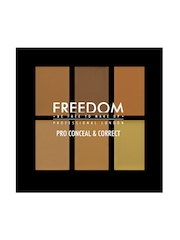 FREEDOM LONDON PROFESSIONAL Pro Conceal Palette Medium/Dark