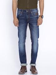 Ed Hardy Blue Slim Fit Jeans
