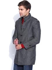 HARVARD Grey Woollen Jacket