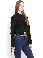 Mago Black Crop Jacket