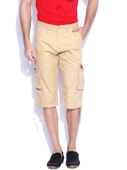 Sports52 Wear Beige Cargo Shorts