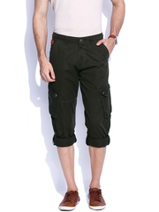 Sports52 Wear Olive Green Convertible Cargo Trousers