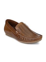 Mactree Men Tan Brown Loafers