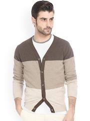 Basics Brown Cardigan