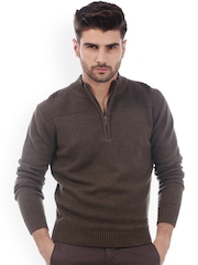 Basics Brown Sweater