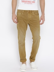 Jack & Jones Khaki Tim Slim Fit Jeans