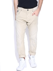 Jack & Jones Beige Anti Fit Jeans