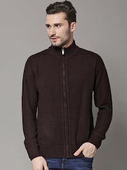 Marks & Spencer Burgundy 8 L STD Cardigan