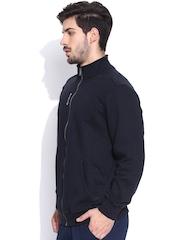 Reebok Navy EL Track Training Sweatshirt