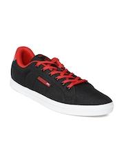 Reebok Classic Men Black Court Sneakers