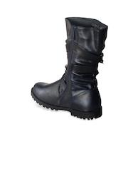CUTECUMBER Girls Black Boots