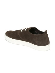 Roadster Men Brown Suede Casual Shoes