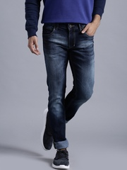 Kook N Keech Marvel Blue Washed Skinny Jeans