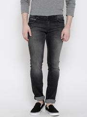 Kook N Keech Marvel Charcoal Grey Washed Skinny Jeans