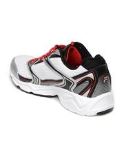 FILA Men White & Black Xtent 2 Running Shoes