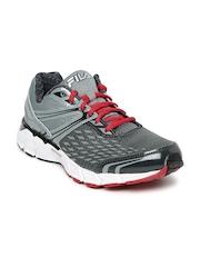 FILA Men Grey Vellospeed Energized Running Shoes